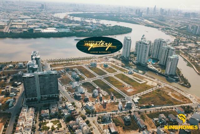 Đất nền Quận 2 Saigon Mystery giá rẻ 150tr/m2 diện tích 140m2, mặt tiền sông 270tr/m2, 0939339337