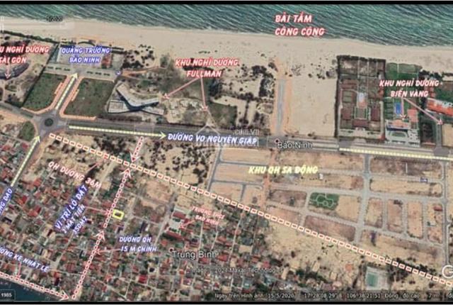 Đất biệt thự 350m2 thôn Đồng Dương - Xã Bảo Ninh - TP Đồng Hới - Tỉnh Quảng Bình, LH 0969997737