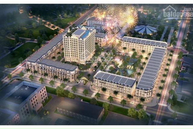 Cần bán gấp shophouse 180m2 phố Nguyễn Du trung tâm Tp. Hà Tĩnh xây hoàn thiện 4 tầng
