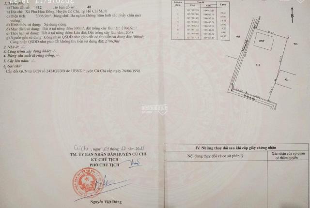 Cần xoay vốn cần bán gấp, thổ cư, 2 mặt tiền, SHR, 1/ Nguyễn Thị Nê, Củ Chi