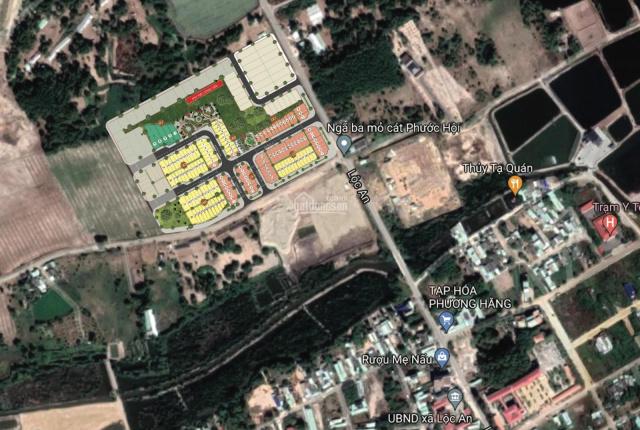 Chỉ 600 triệu sở hữu đất nền phố biển sổ đỏ lâu dài ngay sân bay Lộc An - BRVT. LH 0917.186.116