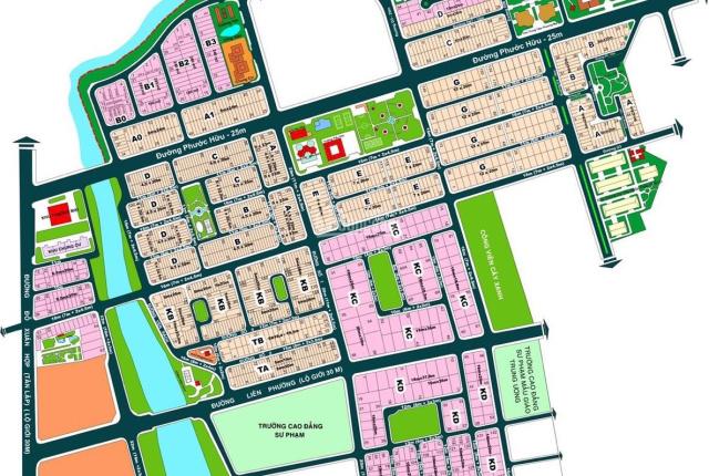 Đất nền khu dân cư Kiến Á, diện tích 200m2, 1 sẹc đường Liên Phường, Thành Phố Thủ Đức