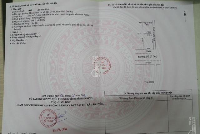 Bán nhà trọ 10mx25m, gồm 2 dãy, ngay sát chợ Phú Chánh, Bình Dương