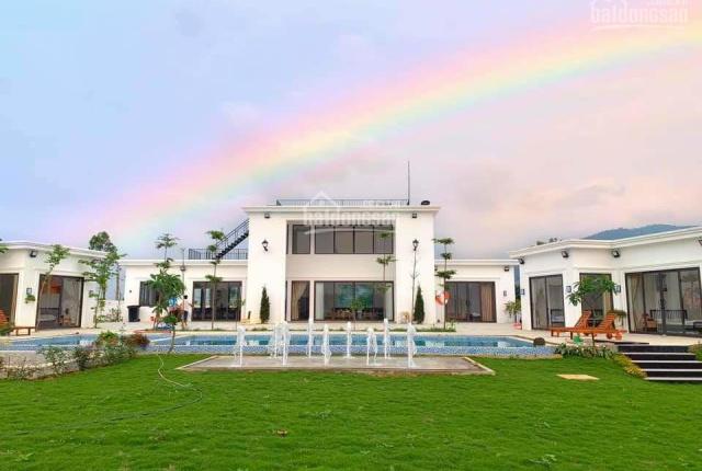 Bán biệt thự có sẵn siêu đẹp tại Lương Sơn, Hòa Bình. DT 4344,3m2 trong đó có 200m2 đất ở