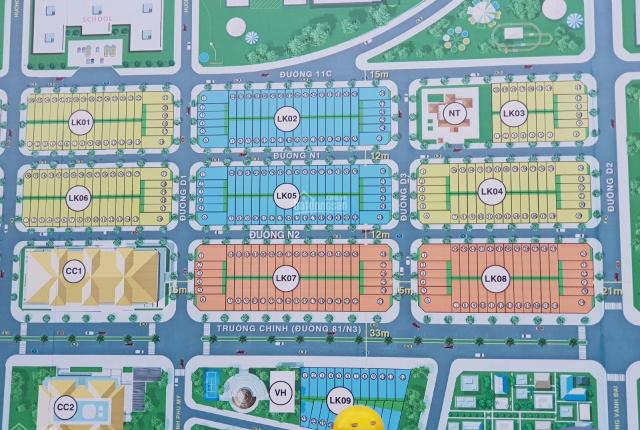 Cần bán đất dự án Ecotown Phú Mỹ, DT: 100m2 - Bà Rịa Vũng Tàu. Liên hệ: 0967097988