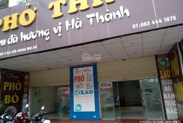 Cho thuê kiot số 7 và 8 nhà CT2 khu đô thị Bắc Linh Đàm, Phường Đại Kim, Quận Hoàng Mai, Hà Nội