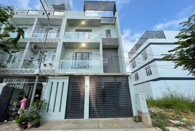 Nhà mới DT 6,5 x 13m, 04 phòng ngủ, 5 toilet, full nội thất, bảo vệ 24/24 Huỳnh Tấn Phát
