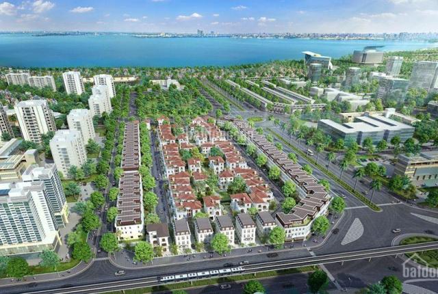 Cho thuê biệt thự shophouse Embassy Garden - mặt đường Nguyễn Văn Huyên (kéo dài)
