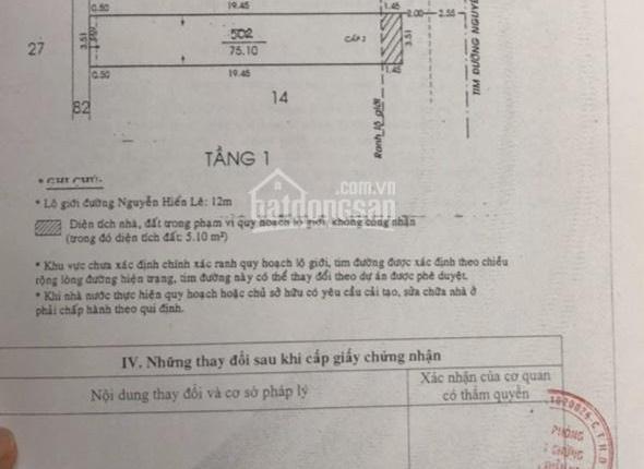 Chính chủ bán nhà mặt tiền Nguyễn Hiến Lê, P13, Tân Bình
