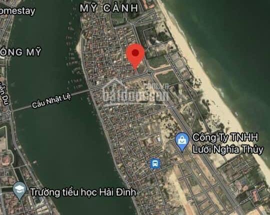 Tim đường cầu Nhật Lệ 1 (Trần Hưng Đạo) lô đất kinh doanh 2 mặt tiền Bảo Ninh, Đồng Hới, Quảng Bình