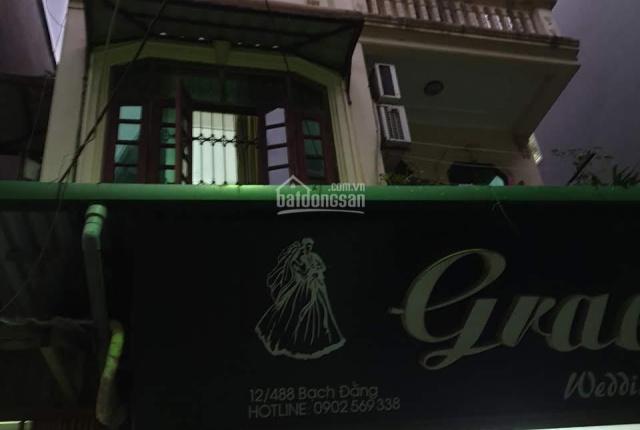 HN, phố Bạch Đằng - bán nhà mặt ngõ 90m2, 4 tầng
