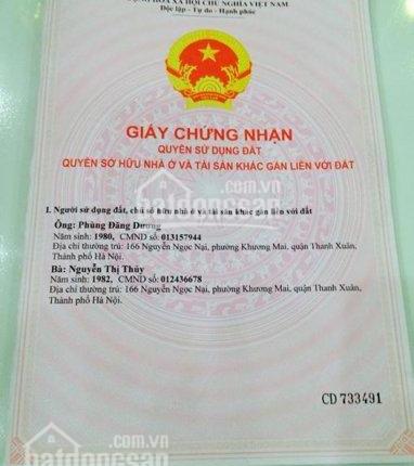 Chính chủ bán nhà 5 tầng giá 2.5 tỷ SN 2 ngõ 285 phố Nam Dư, phường Lĩnh Nam, Hoàng Mai