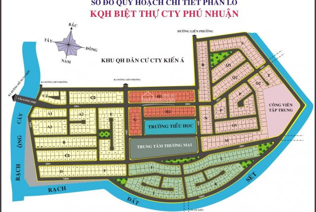 Hot bán nền Phú Nhuận - Phước Long B (ô C1. Xx, dt 300m2, hướng TB, 12m) 0949003009