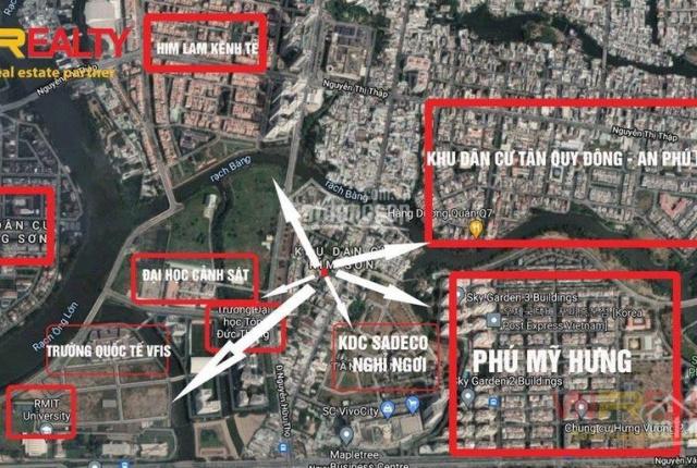 Bán Rẻ Lô đất khu dân cư Kim Sơn, phường Tân Phong, Quận 7, TP. HCM - LH 0903 038 368