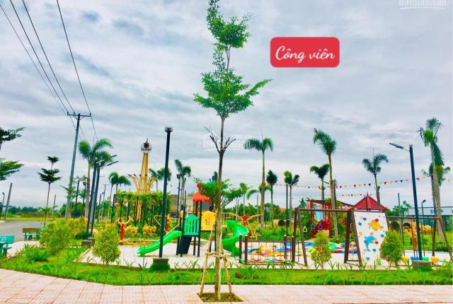 Đất nền KĐT Long Cang Riverpark, SHR, 95m2, tặng ngay SH và 3 chỉ vàng