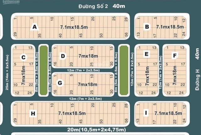 Đất nền Thạnh Mỹ Lợi - 8x15m - Giá 85tr/m2 - Khu 1 - Huy Hoàng - Villa Thủ Thiêm - 0931.456.658