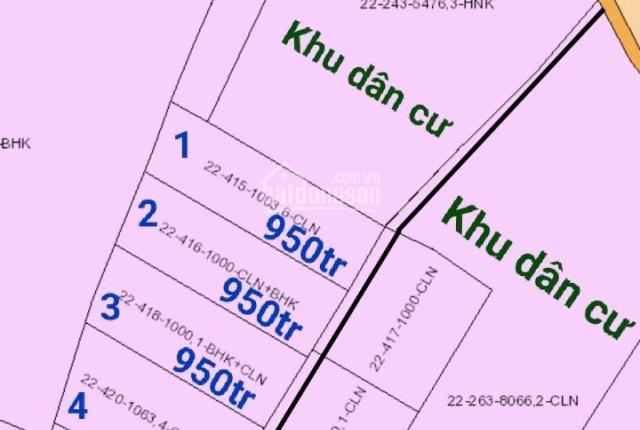 Đất sào quy hoạch đất hồng sát khu dân cư xã Hưng Thịnh. Gần đường 20 xe ô tô chạy