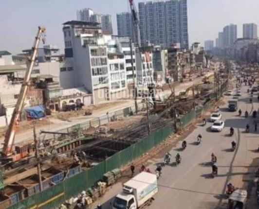 8 tỷ có nhà mới mặt phố Minh Khai: Lô góc, mặt tiền 5m, vỉa hè 6m, 5T