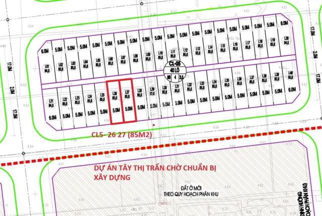 Trùm đất Yên Phụ cần bán các thửa đất có diện tích 85m2 - đường ô tô tải tránh nhau - giá rẻ