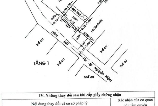 Chính chủ bán nhà riêng đường Nguyễn Văn Công, Phường 3, Gò Vấp. Đảm bảo giá tốt nhất khu vực