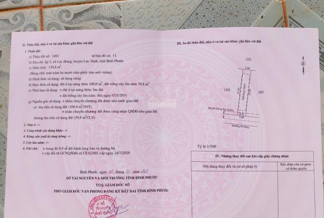 Chỉ còn duy nhất 1 lô đất nền đầu tư giá F0 ở Lộc Ninh, Bình Phước - đừng bỏ qua cơ hội đầu tư