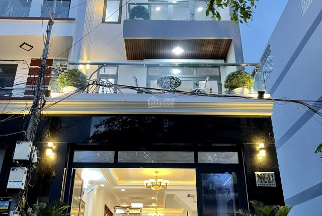 Bán nhà N6-11 Huỳnh Tấn Phát, hoa hồng giới thiệu 150 tr, full nội thất, DT 05 x 16m, 04 tầng