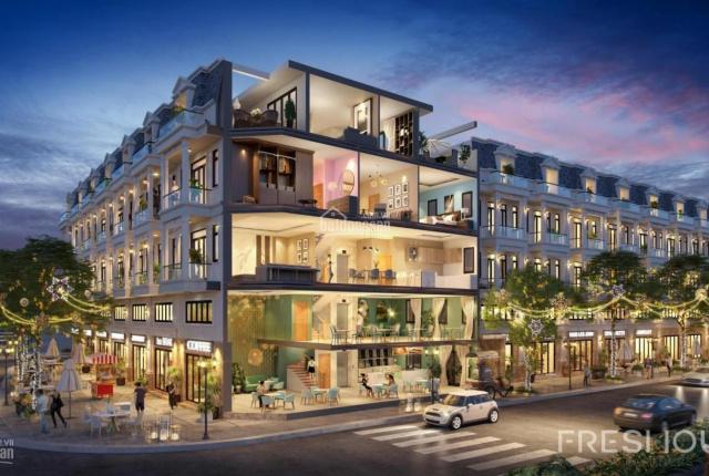 Nhà phố thương mại ngay chợ An Sương, kinh doanh sầm uất sàn 400.7m2, xây dựng 1 trệt 1 lửng 2 lầu