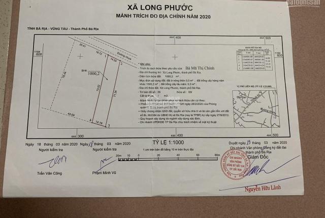 Chủ gửi bán 1 sào đường 84, Long Phước, 14x70m đất cây lâu năm