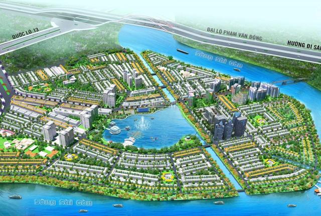 Bán nhà phố, biệt thự, shophouse Khu đô thị thông minh Vạn Phúc City từ 13.5 - 15 - 17 tỷ - 150 tỷ