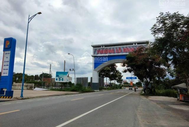 Đất đẹp nằm cạnh QL 55 cổng chào thị trấn Long Điền