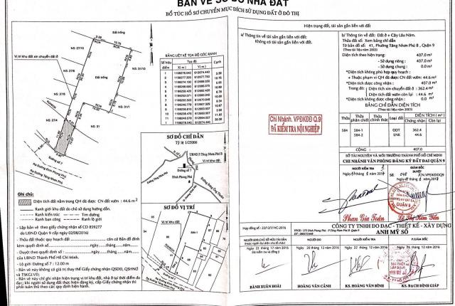 Bán 607m2 đất mặt tiền đường 7, Tăng Nhơn Phú B, ngang 14m phù hợp Khách xây khách sạn, căn hộ