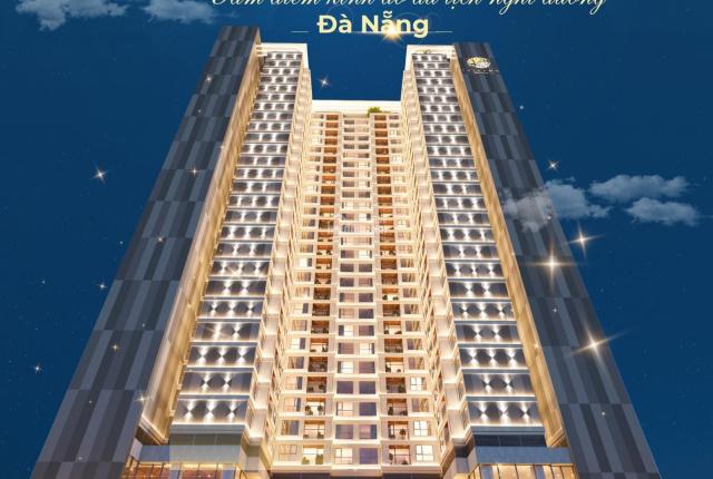 Căn hộ cao cấp view biển, ngay trung tâm TP Đà Nẵng, sở hữu lâu dài, NH hỗ trợ 80%
