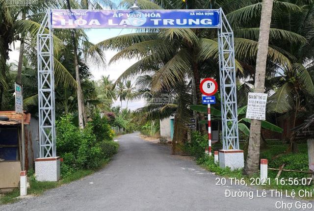 Bán gấp lô đất thổ cư mặt tiền đường Hòa Lạc Trung - Cách nhà thờ Hòa Định 1 km