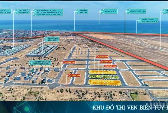 BĐS Phú Yên: Cần bán gấp khu đô thị ven biển TTTP Tuy Hoà giá chỉ từ 1.6 tỷ bao sổ