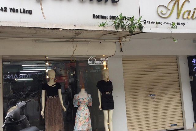 Chính chủ cho thuê nhà tại 42 Yên Lãng, DT: 55m2, vỉa hè rộng, phù hợp kinh doanh, làm cửa hàng