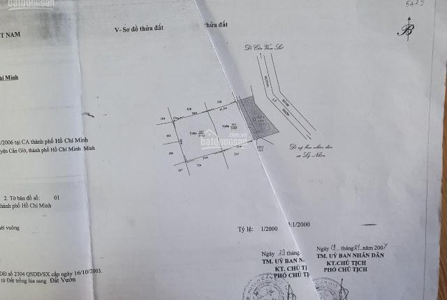 Chính chủ cần bán lô đất 7284m2 mặt tiền xã Lý Nhơn, giá rẻ bất ngờ