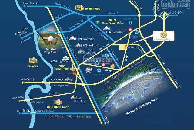 Cam kết lợi nhuận 18% khi mua nhà đất Century City, chỉ cách sân bay Long Thành 2.5km, 0901.411.869
