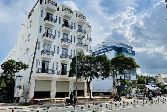 Bán nhà SHR mặt tiền 1trệt, 5 lầu Luỹ Bán Bích, Nguyễn Sơn, Tân Phú, DTSD 400m2 có thang máy riêng