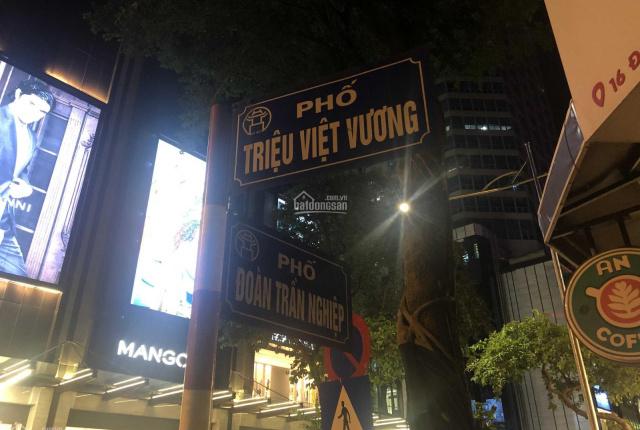 Mặt phố Triệu Việt Vương, siêu phẩm, cực hiếm, không có căn thứ 2 để bán, 190m2 - MT 8,5m - 95 tỷ