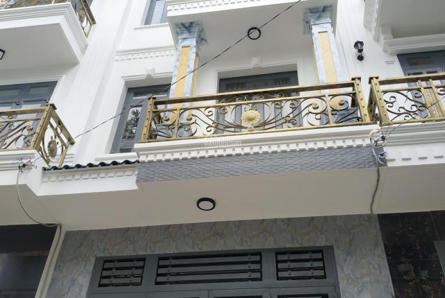 Bán nhà Miếu Gò Xoài, hẻm xe hơi 5m, an ninh, trệt 2 lầu ST 4x15m, nhà mới đẹp, hiện đại giá 5.8 tỷ