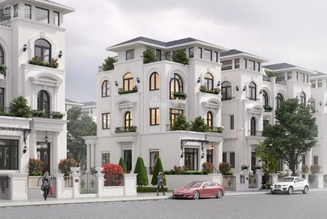 Bán biệt thự 4 tầng có hầm đậu xe gần hồ Yên Sở, đối diện trường Louis, HTLS 0% trong 18 tháng