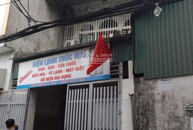 Cho thuê nhà 3 tầng sân ô tô tải trước sau đ. Quang Tiến đang làm đường thông đi bộ sang Smart city