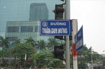Bán nhà mặt phố Trần Duy Hưng - mặt tiền 5.5m - kinh doanh đỉnh - vỉa hè rộng