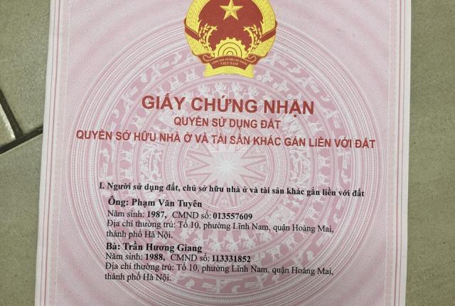 Chính chủ - bán chung cư mini Tân Triều - Hà Nội
