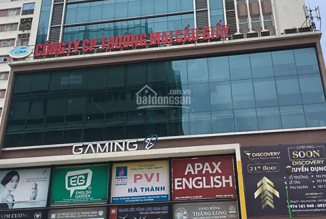Cho thuê văn phòng tại tòa CTM Cầu Giấy sàn đẹp, giá hợp lý, vị trí trung tâm. LH: 0903666919