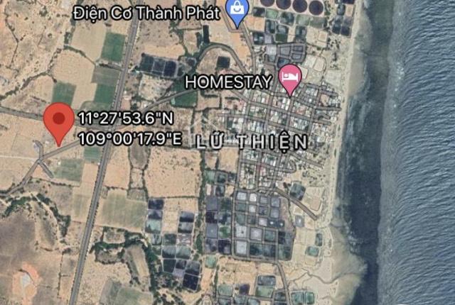 Chính chủ cần bán lô đất NN thuộc diện chỉnh trang đất ở ven biển khu vực Từ Thiện, Mũi Dinh