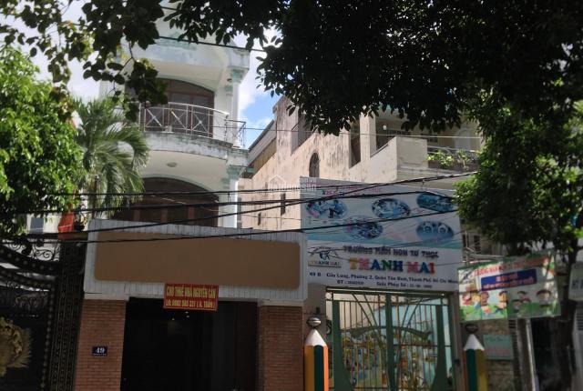 Nhà mặt tiền giá rẻ mùa dịch 49 Cửu Long, 4.5 x 26m, 3 lầu
