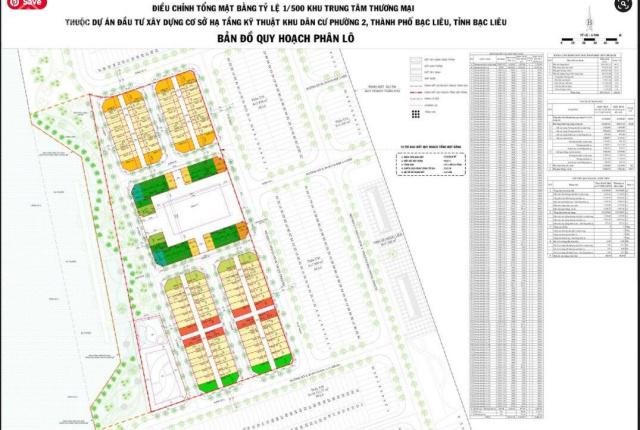 Chính thức giữ chỗ siêu phẩm dự án đất nền P2, TP. Bạc Liêu, chiết khấu 7% cho 20 nền đầu tiên