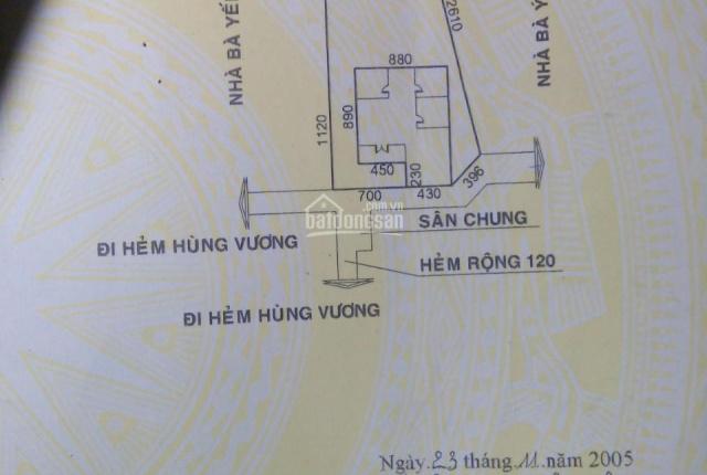 Cần tiền bán gấp nhà hẻm diện tích 328 m2 đường Hùng Vương, Tp. Pleiku