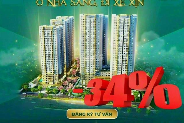 Hưng Thịnh căn hộ Biên Hòa Universe - giảm ngay 800tr/căn, căn 2PN 2WC - 74m2 2,36 tỷ còn 1,52 tỷ